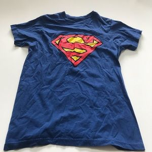Unisex Superman Blue T shirt